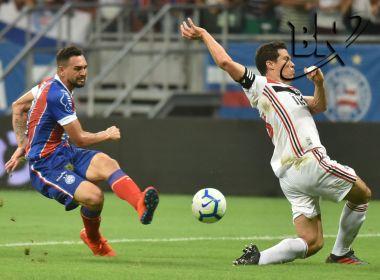 Bahia volta a vencer o São Paulo e avança para as quartas de final da Copa do Brasil