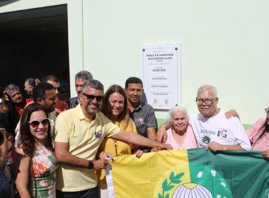 Praça da Juventude, que leva o nome de Dinho, dos Mamonas, é inaugurada em Irecê