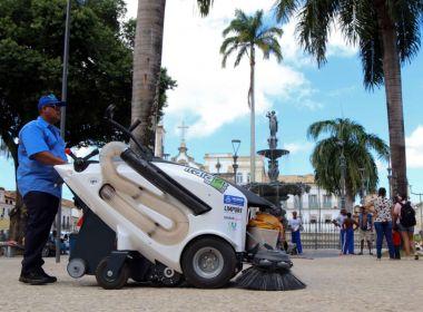 Varredeiras elétricas inovam limpeza urbana em Salvador