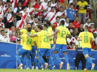 É campeão! Brasil vence o Peru no Maracanã e conquista a Copa América