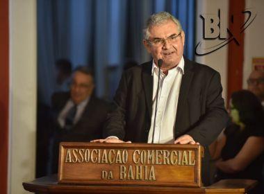 Em evento da Associação Comercial da Bahia, Coronel critica Lava Jato e é vaiado pelo público