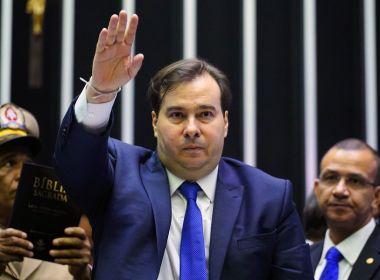 Rodrigo Maia visita Isidório após deputado votar a favor da reforma da Previdência