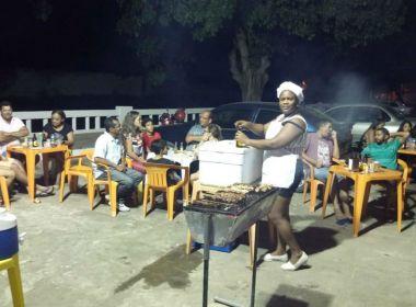 Jacobina: Fora do programa 'Mais Médicos', cubana vende churrasco para se manter