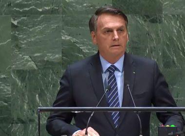 Em discurso na ONU, Bolsonaro acusa líderes estrangeiros de ataque à soberania do Brasil