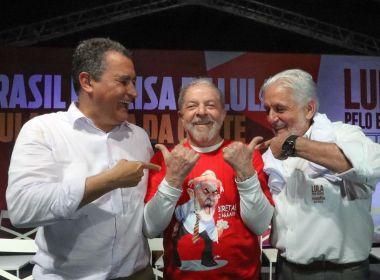 Wagner concorda com Rui Costa e diz que Lula Livre 'não pode ser a única' pauta