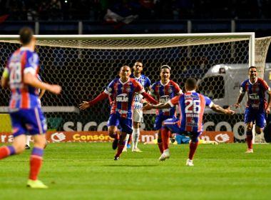 Bahia vence o Avaí e entra na zona de classificação para a Libertadores