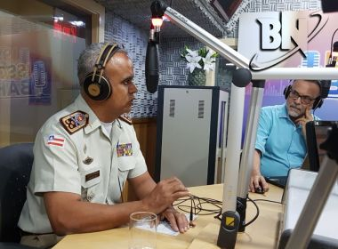 Comandante da PM-BA põe nas mãos de Rui Costa decisão sobre candidatura a prefeito