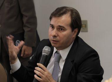Rodrigo Maia desembarca em Salvador na próxima semana para encontro com prefeitos