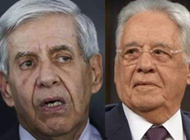 General Heleno manda FHC calar a boca após crítica do ex-presidente ao governo