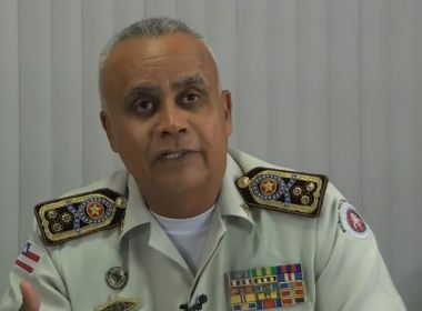 Comandante da PM-BA reitera operação normal e critica 'terrorismo' feito por 'oportunistas'