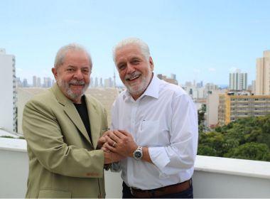 Wagner comemora saída de Lula da prisão e diz que STF 'recolocou país nos trilhos'
