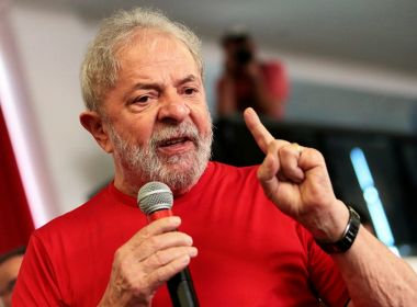Lula decide participar da reunião do PT e estará em Salvador na próxima quinta-feira
