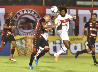 Vitória pressiona, mas fica no empate com o CRB no Barradão