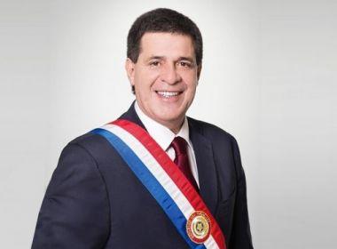 Ex-presidente do Paraguai é alvo de mandado de prisão na Operação Lava Jato
