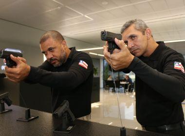 Polícias Civil e Técnica testam novas pistolas na Áustria