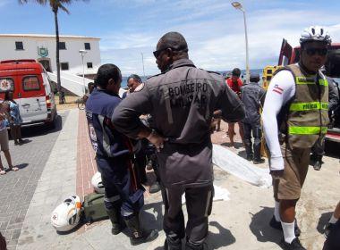 Jovem de 25 anos morre durante banho de mar no Porto da Barra