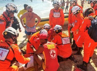 Homem morre afogado durante festade Iemanjá e três pessoas são baleadas