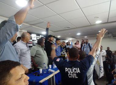 Policiais Penais e Civis da Bahia aprovam paralisação por 24 horas
