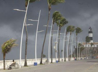 Final de semana será de céu nublado com possibilidades de chuva, informa Codesal