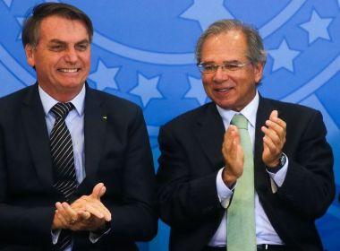 Bolsonaro pressiona Guedes e pede crescimento mínimo de 2% em 2020
