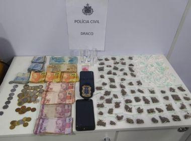 Draco surpreende traficantes de drogas na Roça da Sabina; traficante é morto na operação