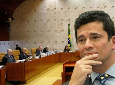 Brasileiro aprova trabalho de Moro e quer ver ministro no STF, diz pesquisa