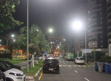 Com investimento de R$ 2,7 milhões, prefeitura melhora iluminação na Pituba