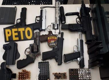 Em 2019, Bahia apreendeu 857 armas a mais do que o número total de registros no estado
