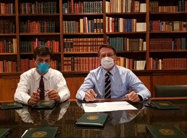 Primeiro exame de Bolsonaro dá positivo para coronavírus, diz Fox News