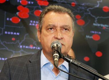 Rui ressalta importância de medidas 'firmes' no combate ao coronavírus na Bahia