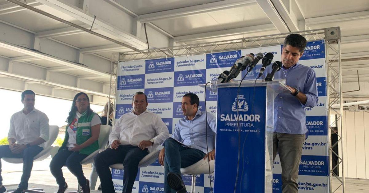 Bahia Notícias / Notícia / ACM Neto anuncia programa de auxílio de ...