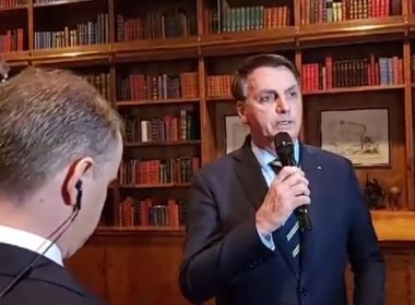 Bolsonaro acusa Maia de conspiração e diz que atuação é péssima
