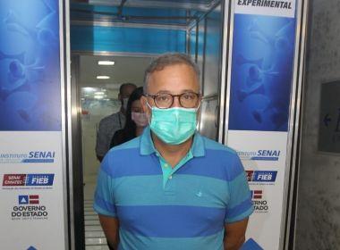 Coronavírus: Fábio Vilas-Boas anuncia testes em massa para profissionais de saúde