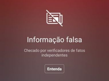 Instagram veta postagem de Bolsonaro sobre Covid-19: 'Informação falsa'
