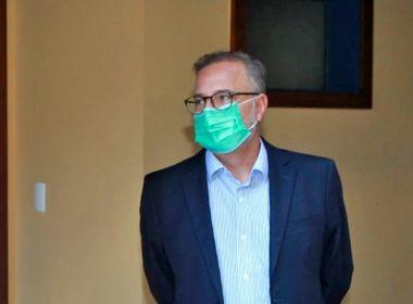 Secretário de Saúde da Bahia prevê chegada de 190 respiradores nesta semana
