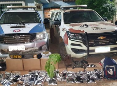 Assaltantes de bancos são presos na cidade de Barreiras