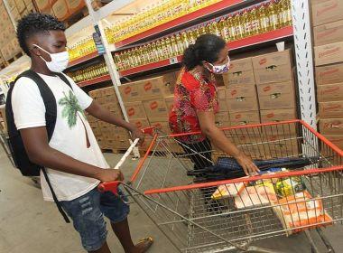 Quase 270 mil estudantes da rede estadual de ensino já receberam o vale-alimentação