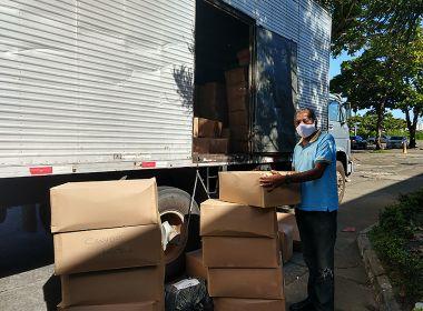 Governo do Estado envia túneis de desinfecção e material hospitalar para o interior da Bahia