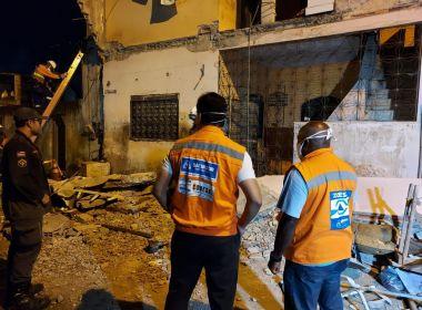 Homem morre após marquise de imóvel desabar no bairro de Periperi, em Salvador