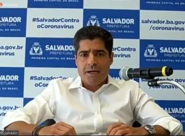 Salvador condiciona reabertura de shoppings e templos a 75% de ocupação nas UTIs