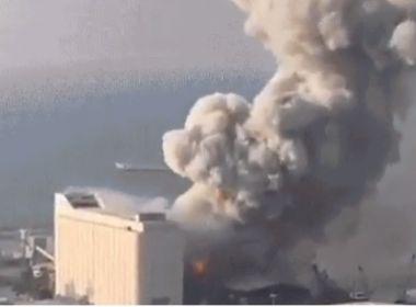 Governa libanês estima 25 mortos em explosão portuária no Líbano