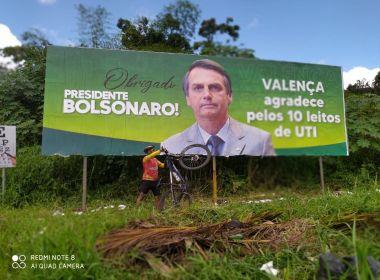 PT Bahia aciona Ministério Público contra outdoors de Bolsonaro