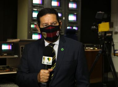 Mourão sugere que dados sobre queimada são divulgados por 'opositor' ao governo