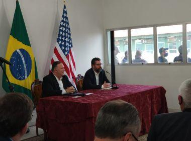 Em visita a Roraima, secretário dos EUA diz que 'vamos tirar' Maduro 'de lá'