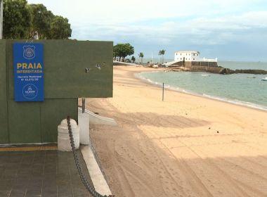 Após desrespeito de protocolo, praias de Salvador serão interditadas por uma semana