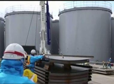 Japão decide descartar no mar água contaminada da usina nuclear de Fukushima