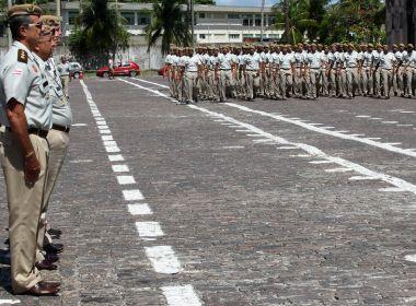 Governo da Bahia convoca 184 reservistas da Polícia Militar nesta quinta