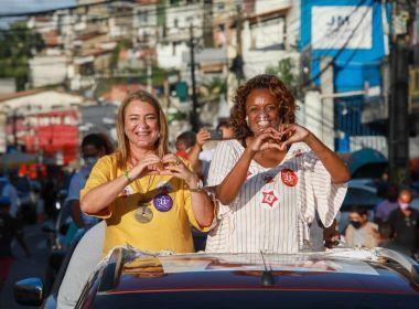Denice visita região da Boca do Rio e ressalta importância de debates: 'Espaço democrático