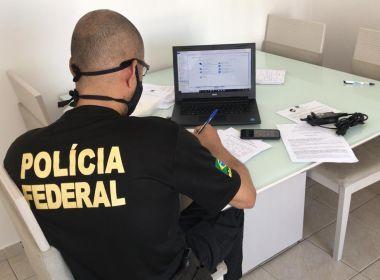PF cumpre mandados em Salvador, Lauro e Valença em operação contra desvios na saúde