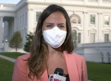 Repórter da Globo diz ter sido expulsa da Casa Branca